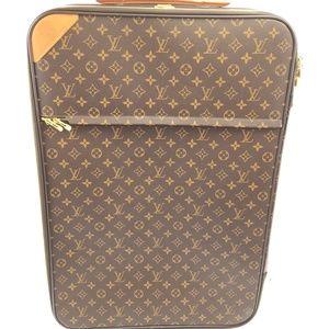 Pegase 65 Roller Luggage Monogram Travel Bag